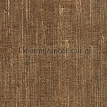 Grasweefsel zijdeglans bruin behang Eijffinger alle afbeeldingen