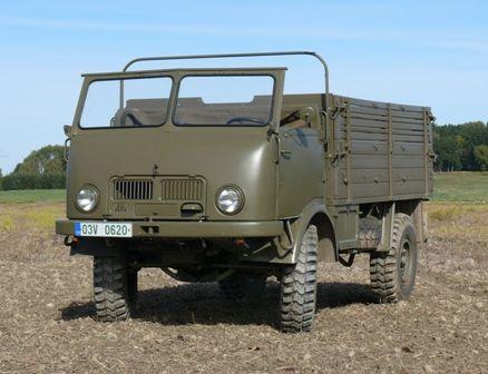 Tatra 805 Komando | Staré náklaďáky