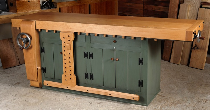 Shaker Workbench For Sale | Rare Opportunity: Shaker-Style Bench For Sale