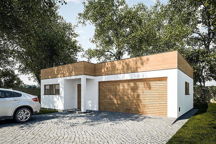 projekt G299 - Budynek garażowo - gospodarczy PRA1320