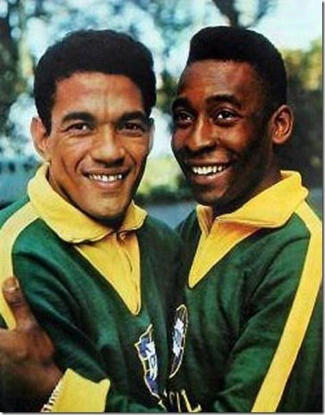 Pele and Garrincha