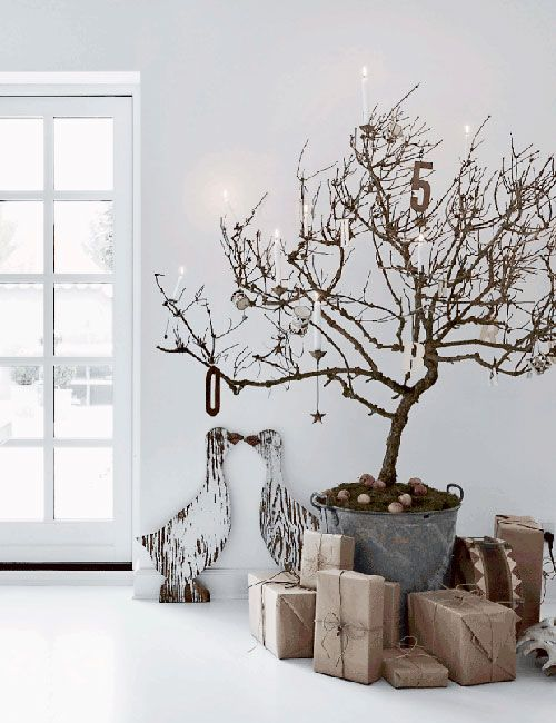 Christmas tree, H.Hemmingsen home in Copenhaguen