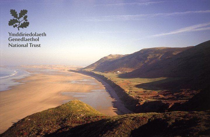 Rhossili Beach, Gower, Wales © National Trust