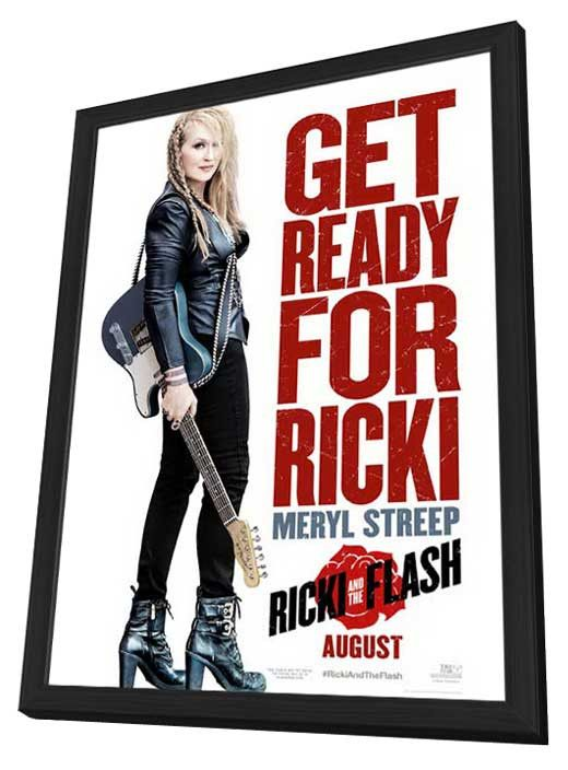 ricki and the flash 27x40 framed movie poster 2015