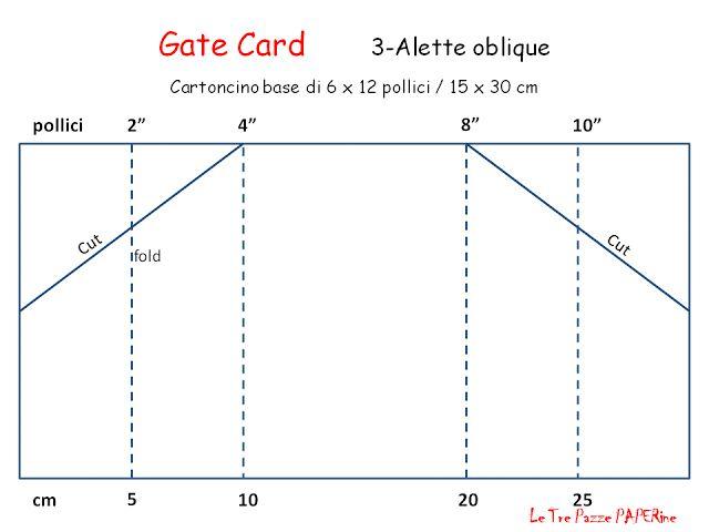 Ricordi di Carta : GATE FOLD CARD