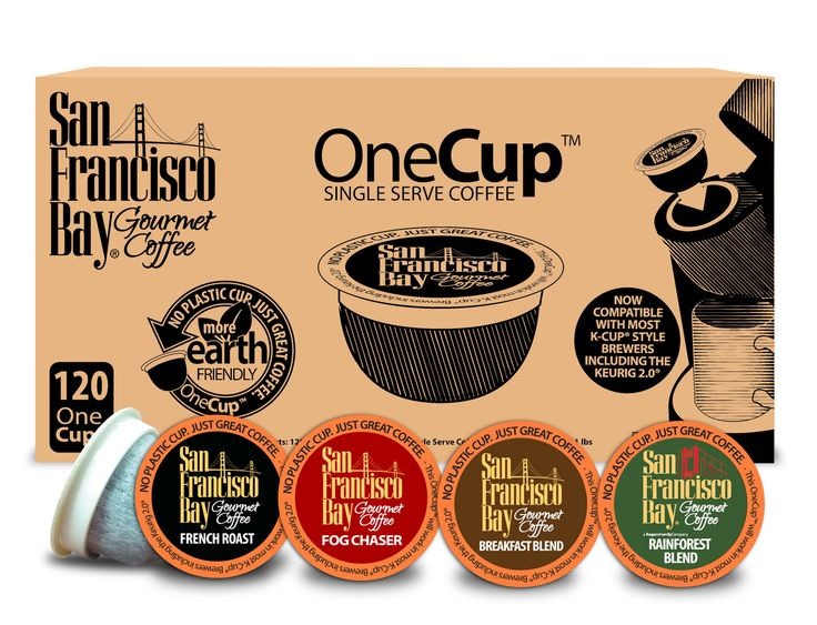 One Cup Variety Pack Single Serve Coffee (Pack of 120)
