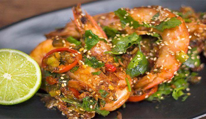 Assam Prawns - Good Chef Bad Chef