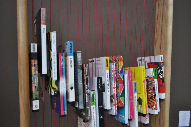 Bloom Bookshelf - război de țesut