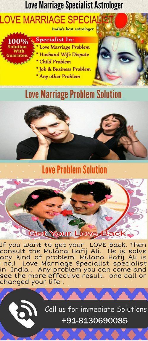 Love marriage specialist Astrologer.