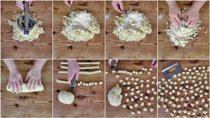 Gnocchetti allo zafferano con broccolo romano e frutti di mare passo passo