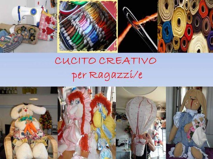 Laboratorio Corso Cucito CREATIVO Ragazzi/e