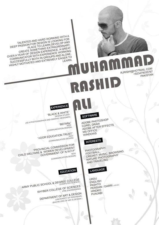 amazing and creative resume design - Resume Designer