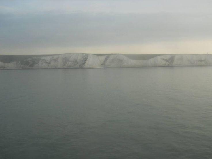 Falaises blanches de Douvres, Kent, Angleterre