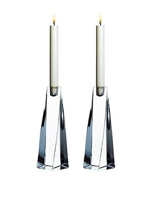 49% OFF Orrefors Set of 2 Tornado Candlesticks