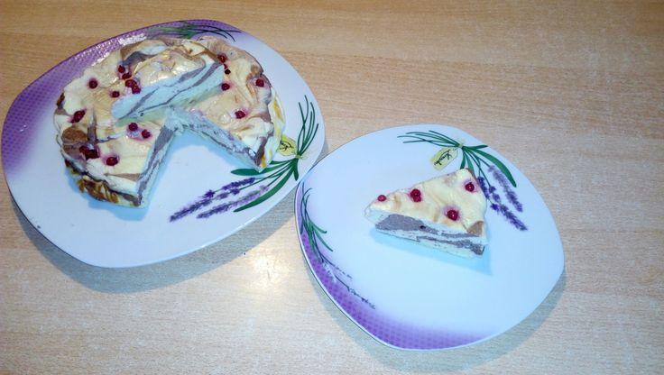 Fit zdravý tvarohacek Výborný dortík bez cukru a mouky