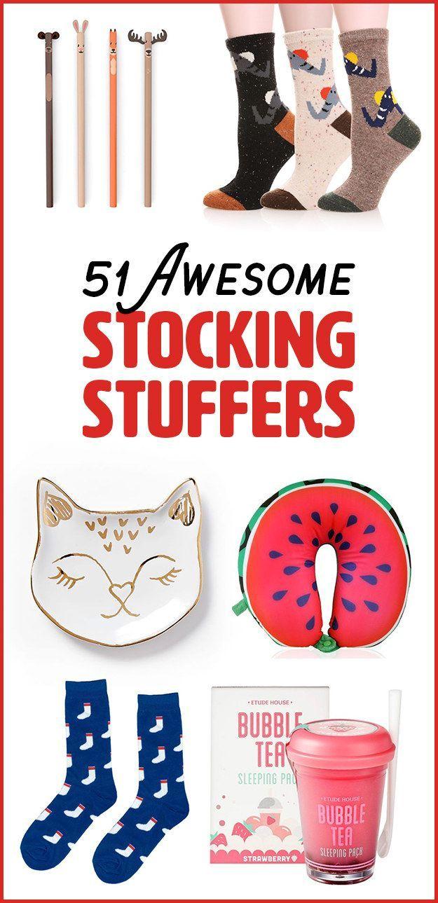 51 Geschenke, die Sie eigentlich in Ihrem Weihnachtsstrumpf finden ...