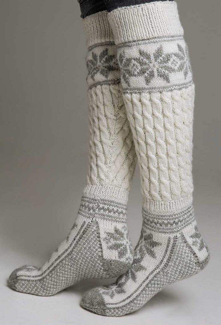 Socks! I want these. Ahh they look so warm!