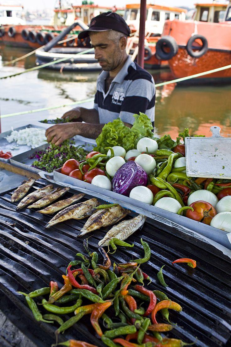 In Istanbul, Balık Ekmek is the street food to try.