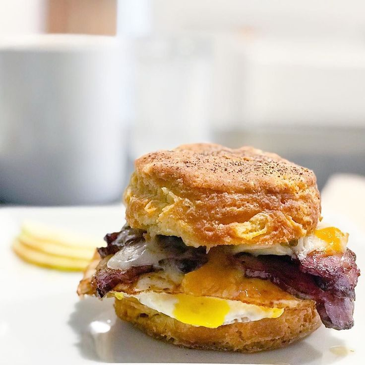 Were in love with The Southern from @bloombakeshop . Peach preserves Fried ham aged cheddar all in a black pepper buttermilk biscuit... whats not to love?!?!  PRO TIP: ask to add a fried egg. Its a whole other tasty experience with it.  . . . . . #epicureanchronicles #ecmadison #ecfoodnews #madisonwi #wisconsin #madisonfood #wisconsinfood #foodie #foodielife #foodporn #eeeeeats #eatthis #letseat #eatlocal #sconniefoodies #foodstagram #eatingfortheinsta #nomnom #brunch #breakfast…