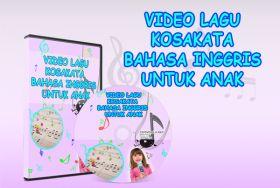 Toko Saya: Video Lagu Kosakata bahasa inggris untuk anak