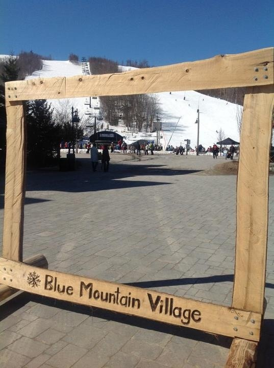 Blue Mountain Resort. The Village. Collingwood. Ontario.