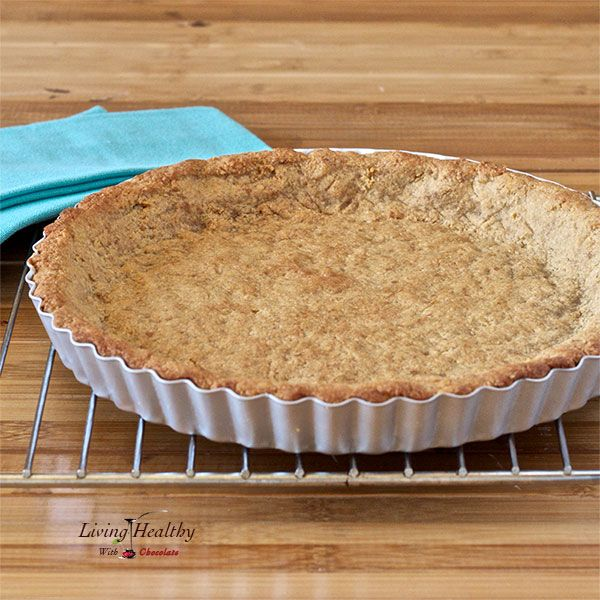 Delicious Paleo Cookie Pie Crust made without grains, gluten and processed sugars.