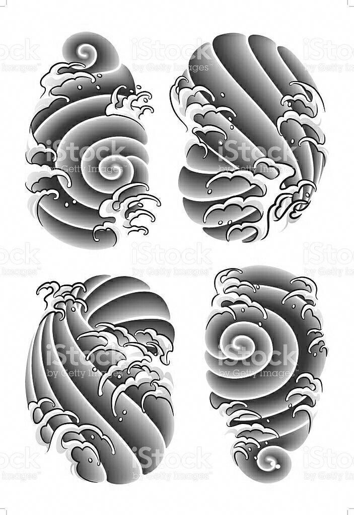 Pin By Tynu Tynu On Japanese Wave Tattoos Tattoo Background Tattoo Styles Japanese Tattoo