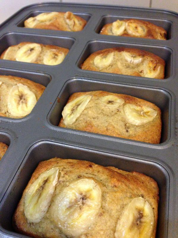 #Thermomix Mini Banana Bread Loaves
