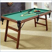 Maybe just maybe Home Styles The Real Shooter 6-Foot Pool Table - 5967-98