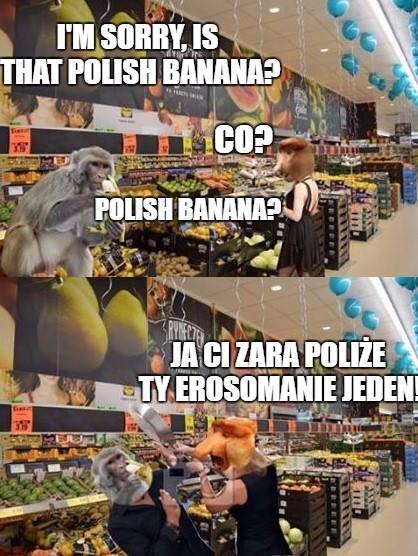 Grażyna i polish banana xD – eHumor.pl – Humor, Dowcipy,  Najlepsze Kawały, Zabawne zdjęcia, fotki, filmiki