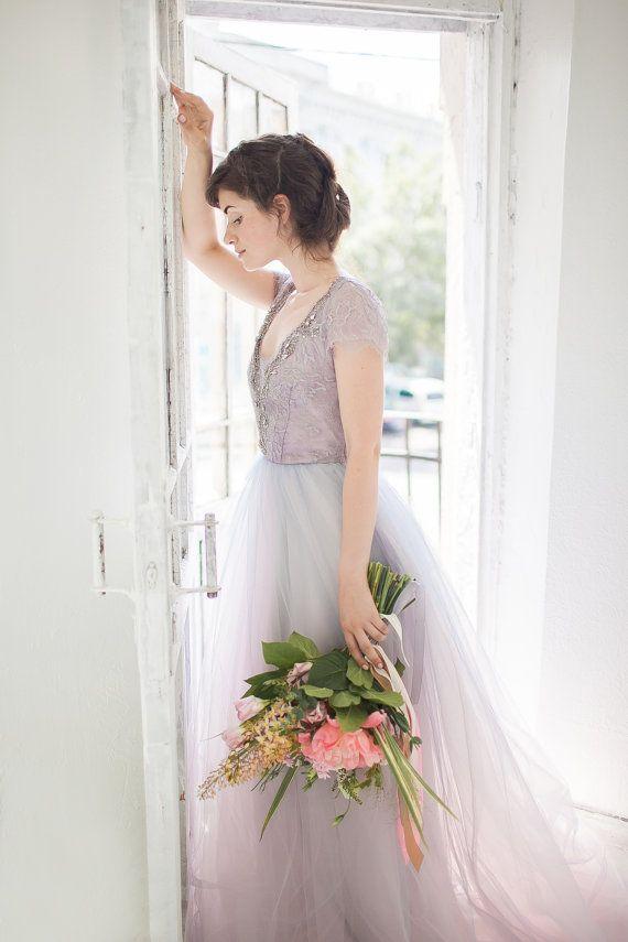 Robe de mariée Tulle / / Lavanda par CarouselFashion sur Etsy