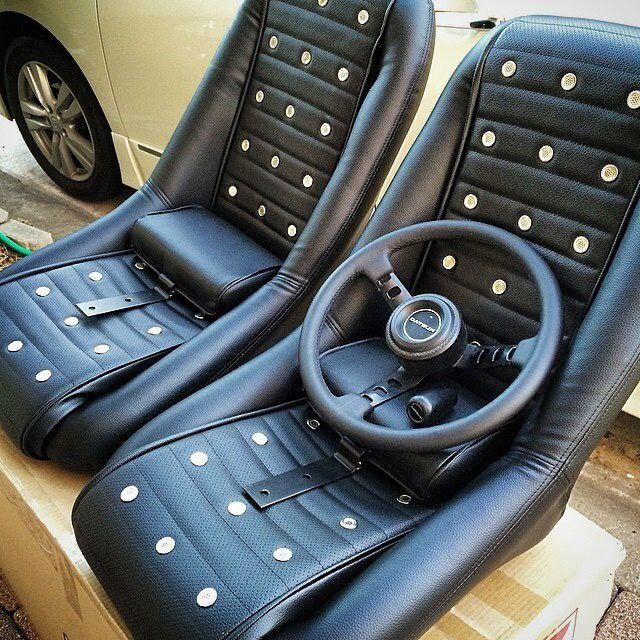 Datsun Competition Seats 240z S30z Kgc10 Kpgc110 Datsun