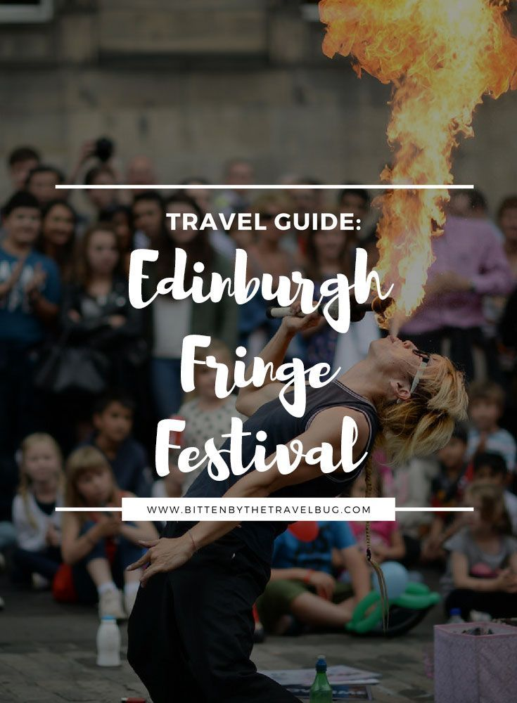 It's almost time for the Edinburgh Fringe Festival to take over the streets of Edinburgh again! Looking for tips to save money on shows? Seeking comfortable accommodation options for every price point? Trying to work out what else you can do in Edinburgh? This guide is for YOU!   #Edinburgh #Scotland #UK #EdFringe #EdFest