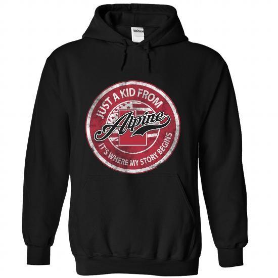 My Home Alpine - Utah - #gift for him #couple gift. HURRY:   => https://www.sunfrog.com/States/My-Home-Alpine--Utah-5066-Black-Hoodie.html?60505