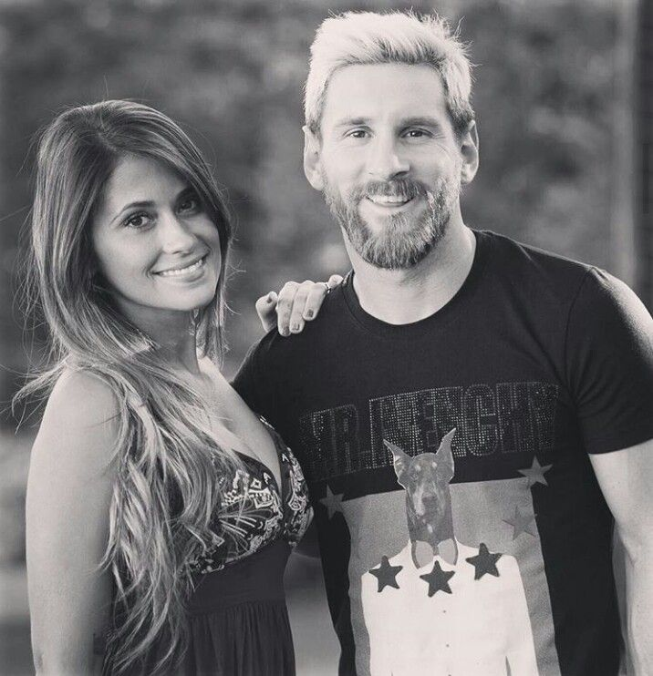 Antonella Roccuzzo. Leo Messi.