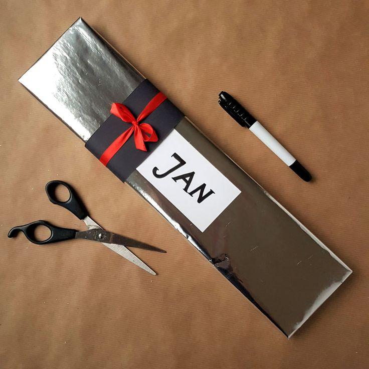 kreatywne pakowanie prezentów [creative gifts wrapping - minimalism]