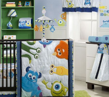 monsters inc nursery - This is what we are using if it is a boy, provided we have $150 for bedding. Otherwise, just a monster themed nursery.
