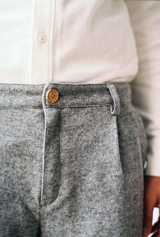 Woolen Melange Pants – A Kind of Guise
