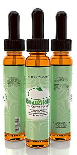 BeanStalk Hair Growth Infusion, The Most Highly Anticipated Fast Hair Growth Product for Women and Men. BeanStalk blends Niacin, Zinc, and Biotin For Hair Growth to Strengthen Natural Hair. BeanStalk is a Powerful Hair Loss Treatment for Alopecia Areata and sensitive scalp. Join The Movement!