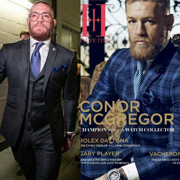 Conor McGregor Suit | STYLE: Conor McGregor Wears Custom David August Suits For Nate Diaz ...