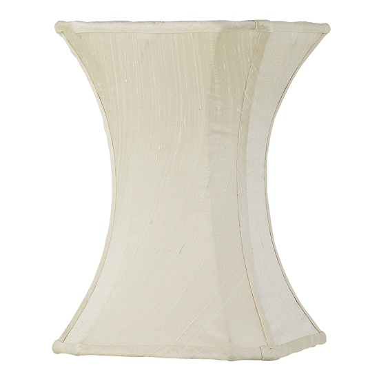 100 best lamp shades images on pinterest extra large lamp shades medium lamp shade hourglass plain ivory aloadofball Choice Image