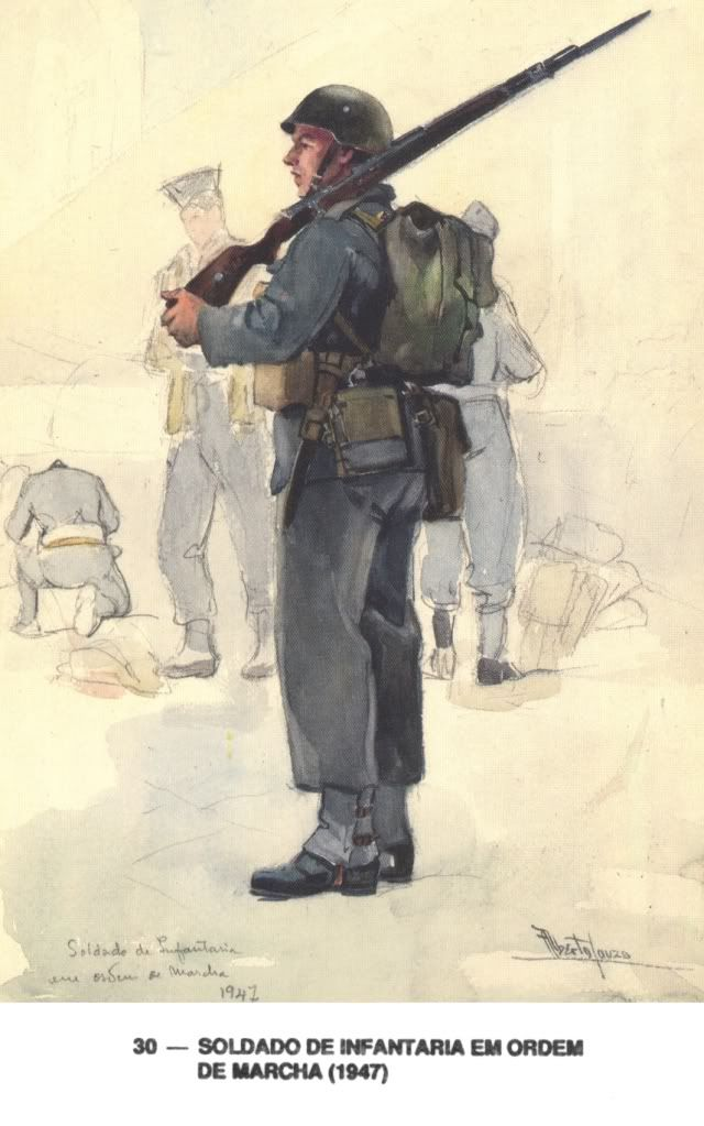 Portuguese Infantry 1947