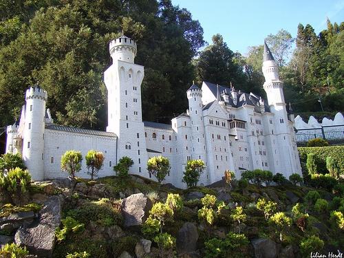 castelo de neuschwanstein em gramado/rio grande do sul (Neushchwanstein Castle in Gramado)