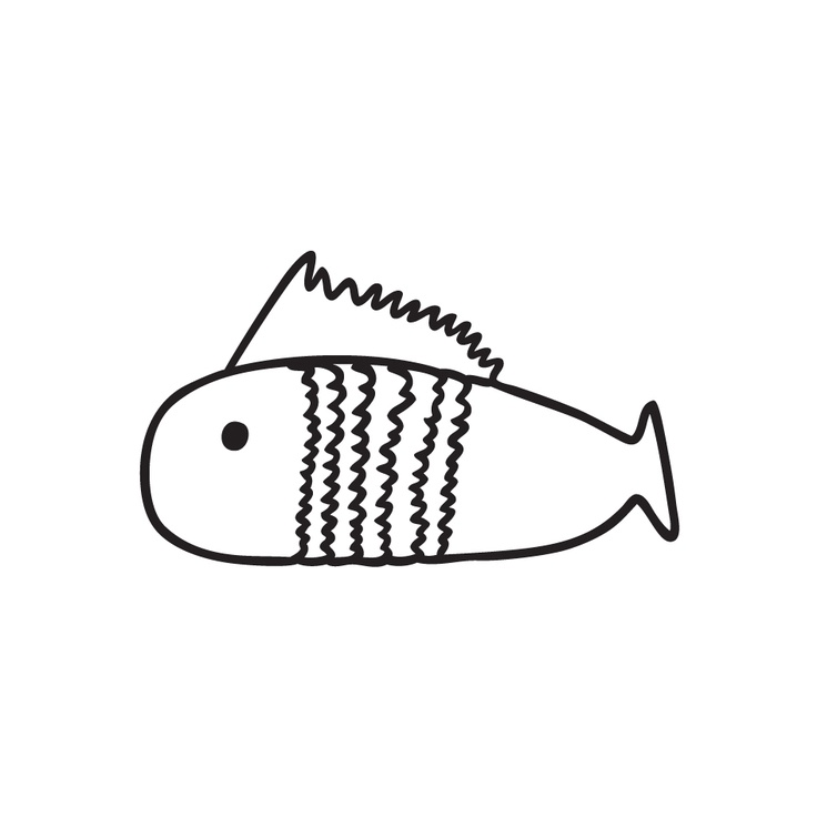 Sarjaton - The great number of fresh water lakes keeps fishes happy and Finns full. Try to catch one, hidden in our design.