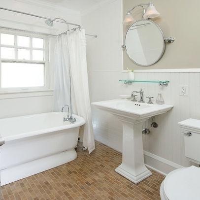 flooring??? | simple bathroom designs, traditional