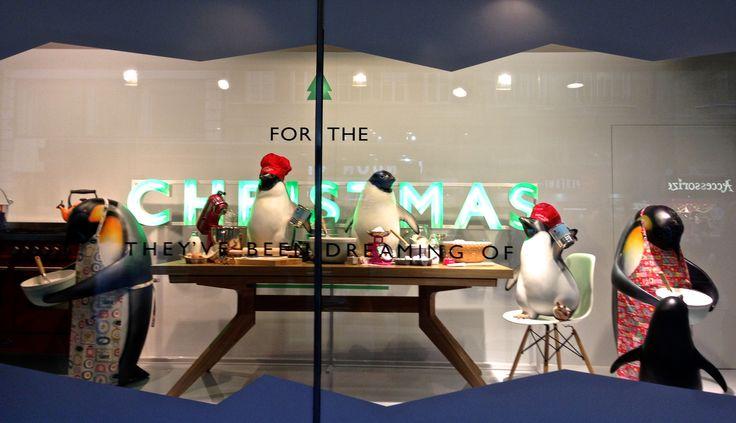Christmas windows 2014 john lewis oxford street give them the christmas they