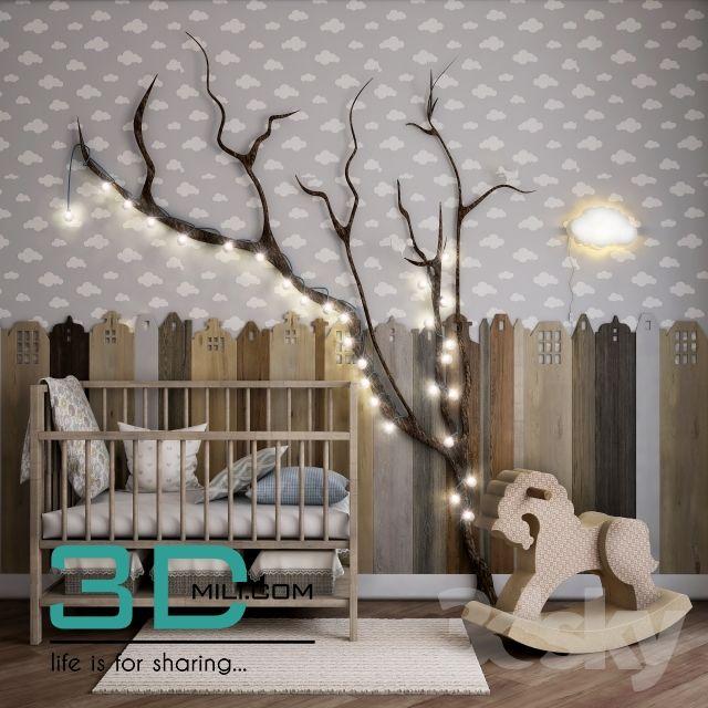 02. children's beds 02 3dmodel free download - 3d mili - download 3d