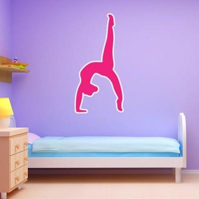 Customize your kids bedrooms! #KidsRoom #WallGraphics #KidsDecor #KidsBedroom #Gymnastics