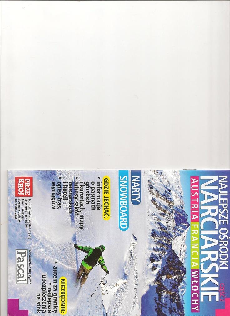 Materiały do turystycznych dodatków tematycznych dla wydawnictwa Pascal (tygodnik Przekrój)