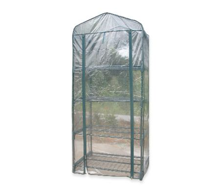 $36.96,Save $12.99 - 69 cm x 49 cm x 158 cm       - This tall apex roof #greenhouse is incredibly easy to set up and has a roll-up plastic entrance so you can get easy access to your greenhouse or adjust the level of humidity within to provide the optimal environment for your plants!